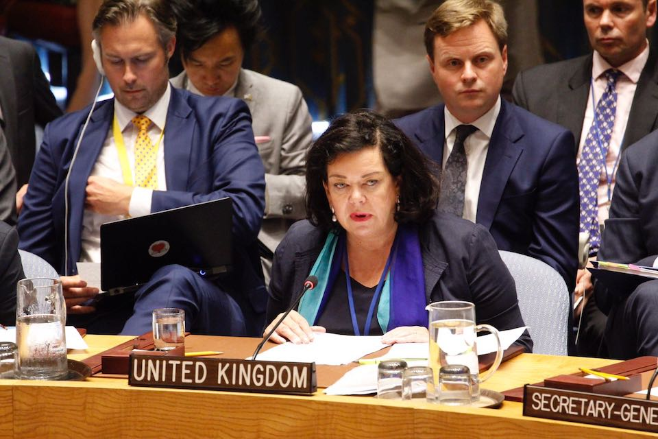 Ambassador Karen Pierce at the UN Security Council Briefing on Salisbury.