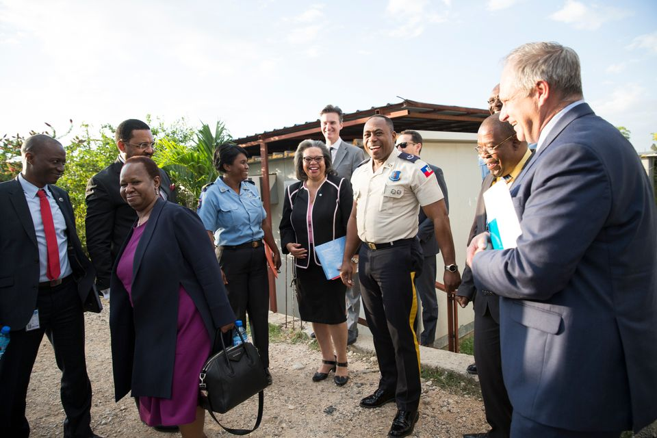 ssistant-Secretary-General for Peacekeeping Operations Visits Haiti