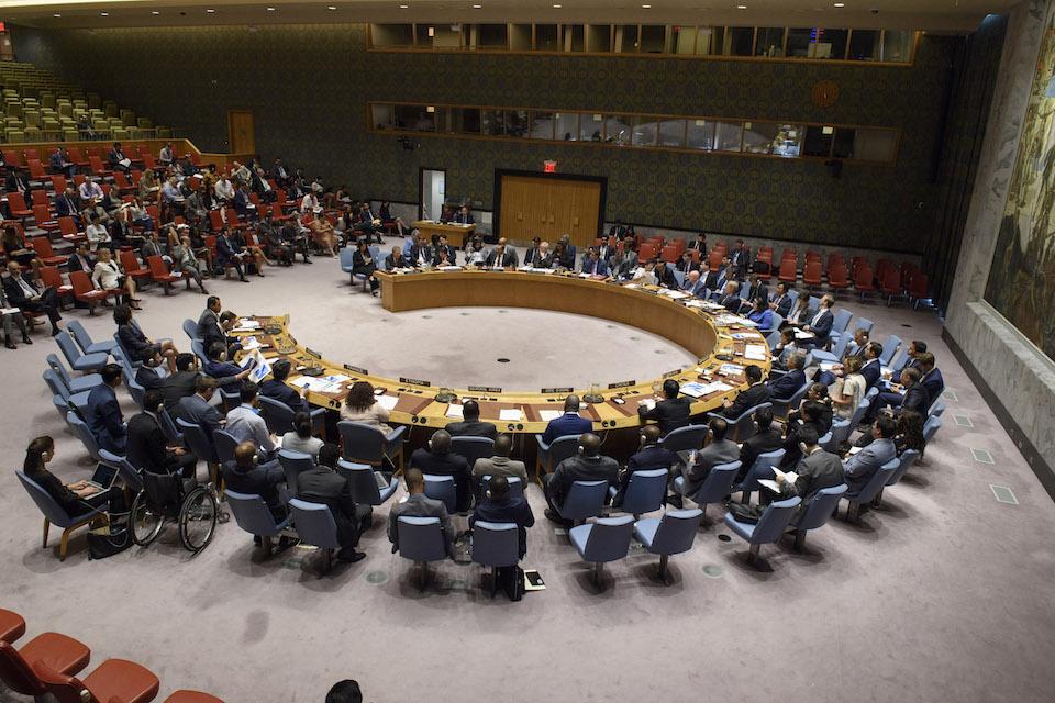 UN Security Council session on Nicaragua (UN Photo)