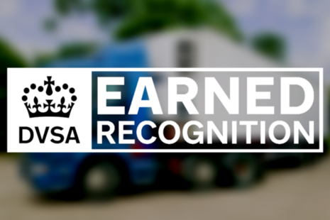 Image of the DVSA earned recognition
