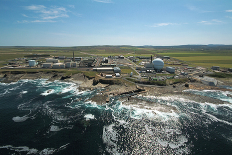 Dounreay aerial view