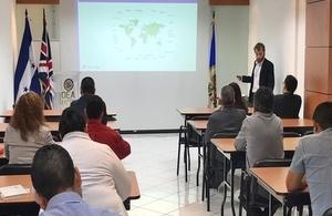 Passport training Honduras