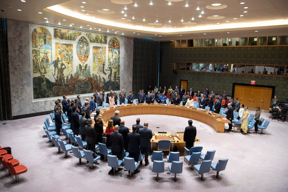 Security Council observes moment of silence for 9/11