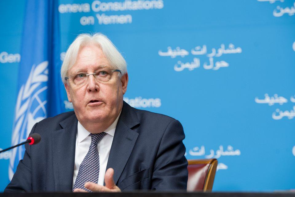 Special Envoy for Yemen, Martin Griffiths
