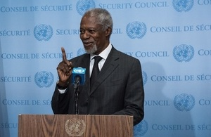 UK pays respect to former UN Secretary General Kofi Annan