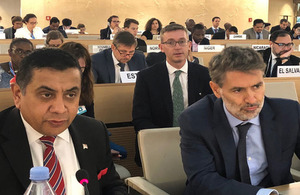 Read the 'Lord Ahmad addresses the 39th Session of the UN Human Rights Council' article