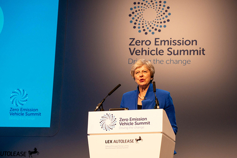 Prime Minister at Zero Emission Vehicle Summit