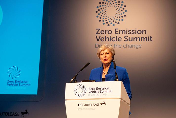 Prime Minister at Zero Emission Vehicle Summit