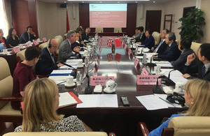 Secretary of State Matt Hancock visits China to promote innovative digital health solutions to shared challenges