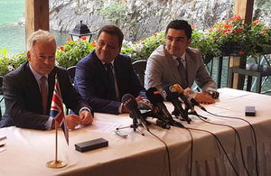 Minister for Europe visits Macedonia to kick off visit to Western Balkans