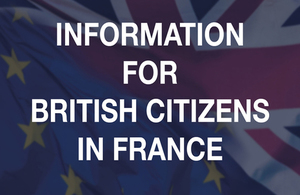 Information and events for British citizens in France