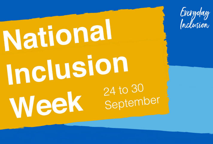 Graphic for National Inclusion Week 2018
