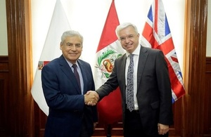UK's Trade Envoy to Peru arrives to inaugurate Joint Task Force