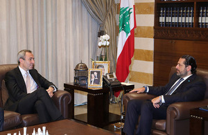 Chris Rampling meet Saad Hariri