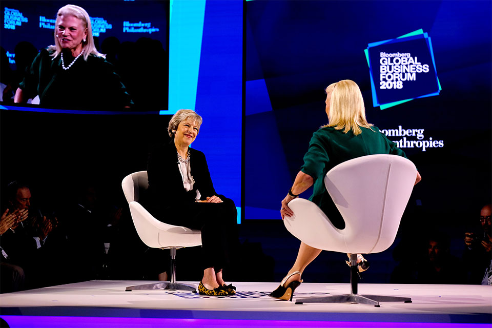 PM at the Bloomberg Business Forum