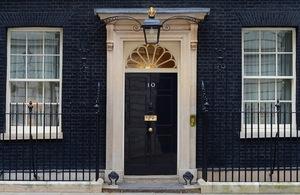 Door of Number 10