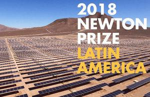 Newton Prize 2018