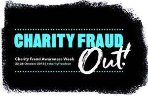 Charity fraud awareness week logo