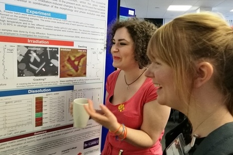 Researchers take advantage of opportunities to share their academic work