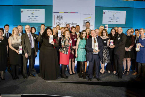 Winners of the Civil Service Awards 2017