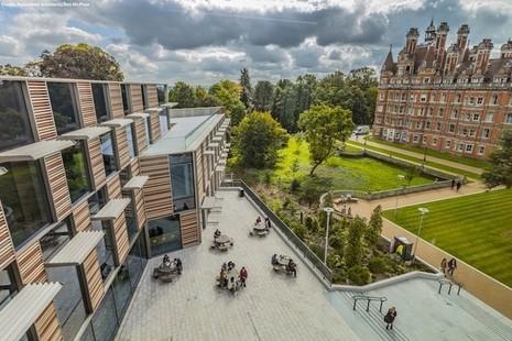 Royal Holloway University's Surrey campus.