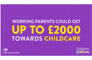 Tax-free childcare graphic