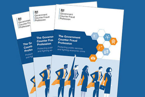 Government Counter Fraud Profession leaflets