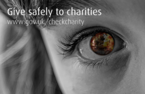 Give safely to charity appeals