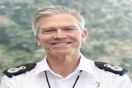 Mike Grffiths Chief Constable and CEO