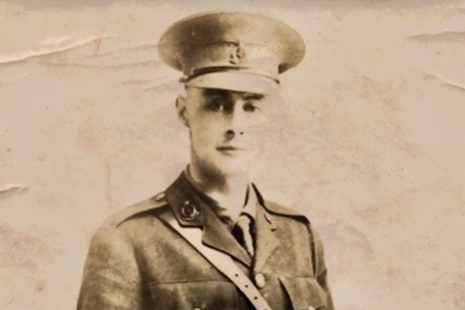 Lieutenant (Lt) John Gillis Butt MB (copyright Butt/Previté family), All rights reserved