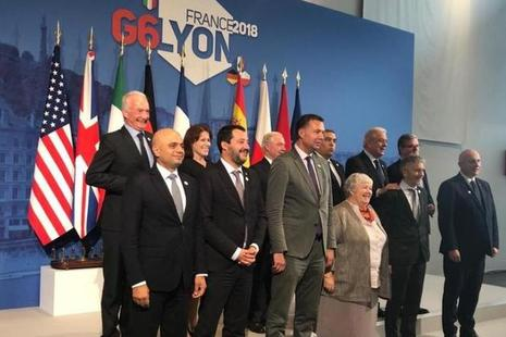 Read Home Secretary attends G6 Summit article