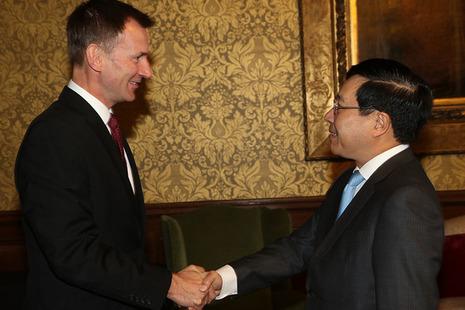 UK-Vietnam joint statement, London, 10 October 2018