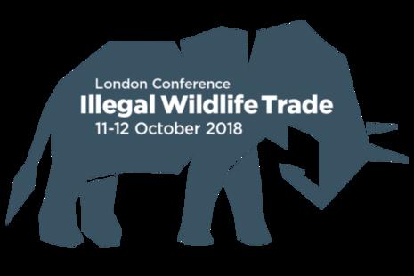 Illegal Wildlife Trade London 2018 elephant logo