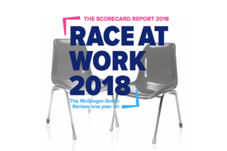 picture with the words 'Race at Work 2018'