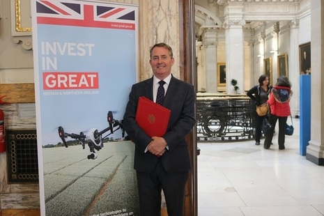 The International Trade Secretary hosts Agri-tech investor roundtable at Downing Street.