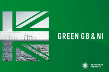 Green GB & NI Week branding