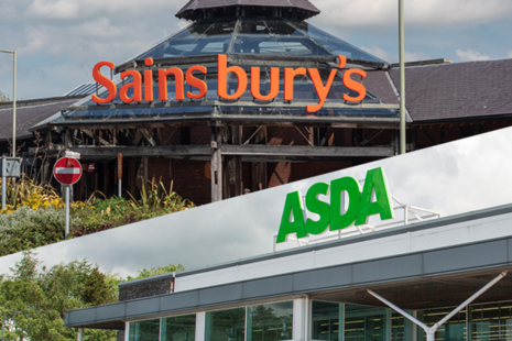 Sainsbury's and Asda stores