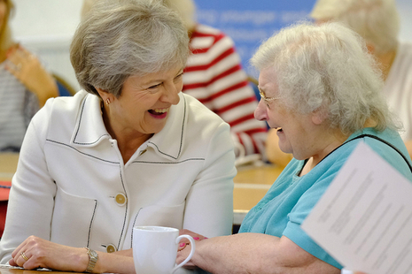 PM Theresa May launching the Loneliness Strategy