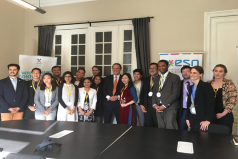Minister Mark Field meets next generation of leaders at the ASEF summit