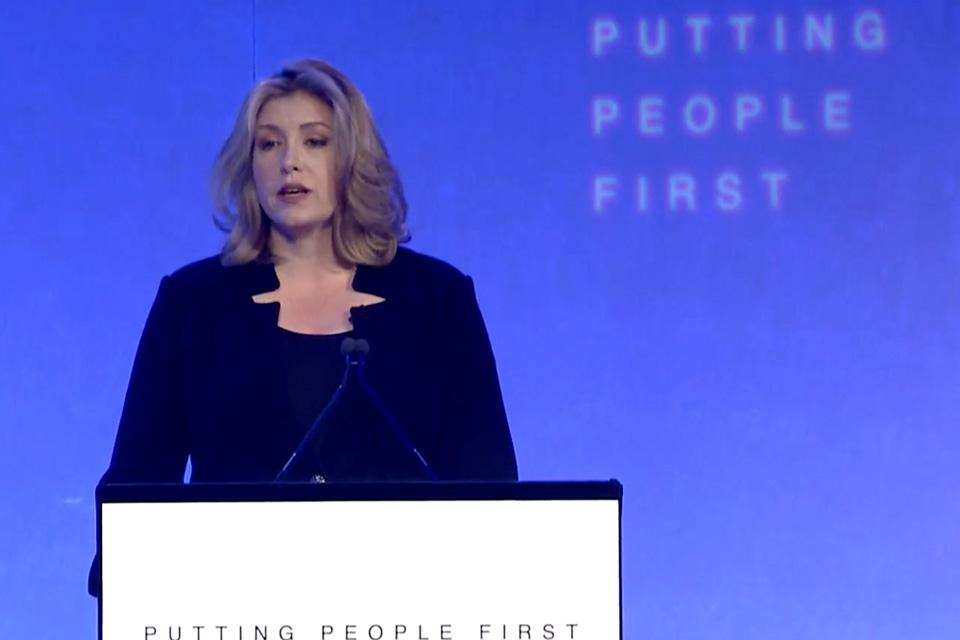 Penny Mordaunt at Safeguarding Summit
