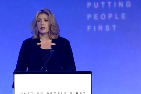Penny Mordaunt at Safeguarding Summit