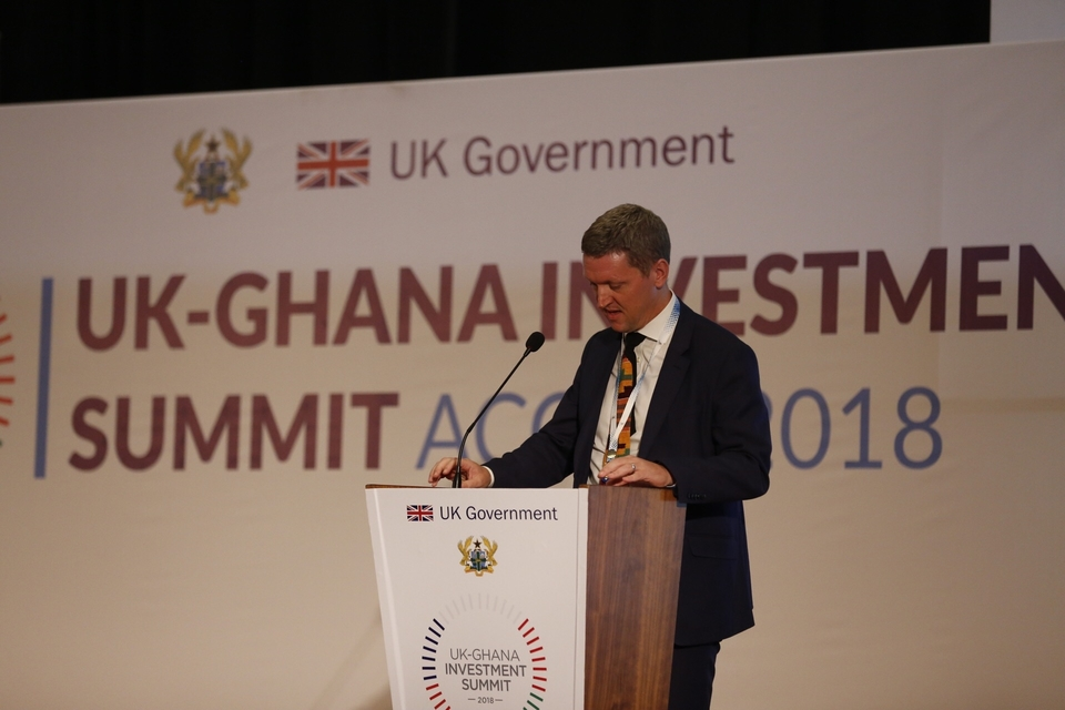 British High Commissioner's speech at UK-Ghana Investment Summit