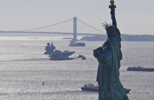 HMS Queen Elizabeth in New York