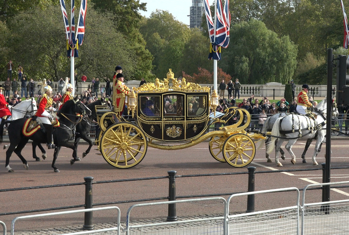 Dutch Royals in Carriage