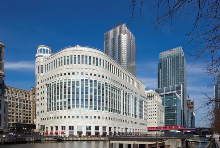 The new Canary Wharf hub