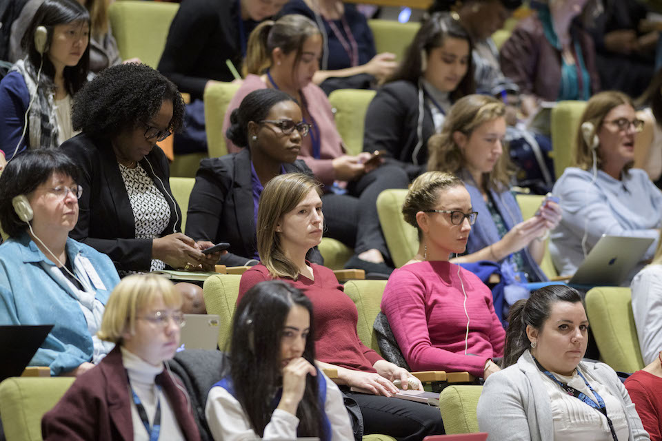 Viewers of the UN Security Council Open Debate on Women, Peace and Security (UN Photo)