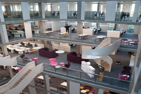 Picture of Bayes Centre interior [credit University of Edinburgh]