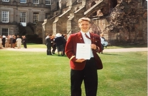 Duke of Edinburgh's International Award Scheme - HE Iain Walker
