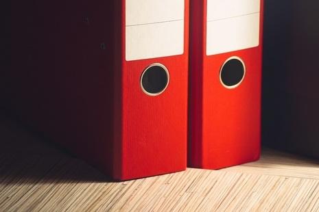 Red folders