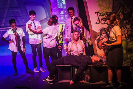 Young people flourishing within the arts, defying the odds and overcoming both economic and social barriers